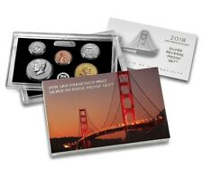 2018-S Silver Reverse Proof Set, All Mint Packaging, Sold Out at the Mint!