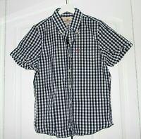 2010 Vintage Hollister  size M men's button front shirt 100% cotton Abercrombie