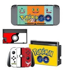 Nintendo Switch Console Skin Sticker Pokemon GO