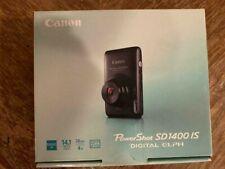 Canon PowerShot Digital ELPH SD1400 IS / 14.1MP Digital Camera - Black