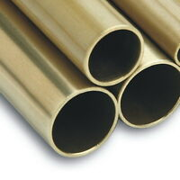 "Brass Tube - 10mm 1/2"" 5/8"" 19mm 25mm 32mm 38mm 51mm 2"" Brass Tube brass Pipe *"