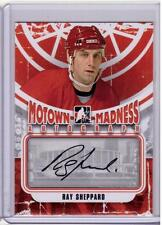 RAY SHEPPARD 12/13 ITG Motown Madness Auto Autograph A-RS Red Wings COA