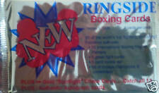 BOXING RINGSIDE TRADING CARD BOOSTER PACK