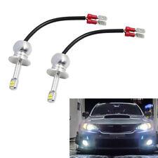 2*H1 Weiß LED Chip Birne Car Nebelscheinwerfer/Fahrlicht Tagfahrlicht 12-24V 80W