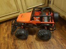 New Bright 1:8 SCL RC Jeep Wrangler Orange MOPAR Edition 9.6V Parts Repair