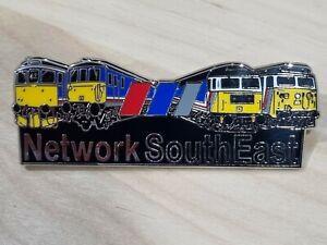 Network SouthEast (NSE) Fleet Enamel Butterfly Pin Badge