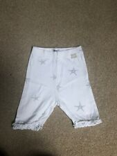 Dkny Baby White Pants With Stars Size 6 Month ( Unisex)