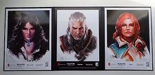 World of Witcher 3 Collectors Lithograph pack 2 Limited 300 Russian exclusive