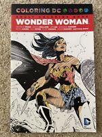 Wonder Woman Adult Coloring Book