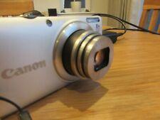 Canon PowerShot A4000 IS 16.0MP Digital Camera - Silver HD Case 8GB card