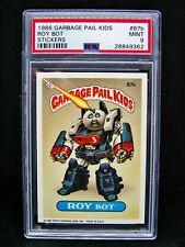 GARBAGE PAIL KIDS 1986 3rd Series #87b Roy Bot w/Copyright OS3 Graded PSA 9 MINT