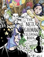 The Neil Gaiman Coloring Book [New Book] Adult Coloring Book, Paperback