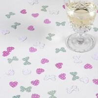 TABLE CONFETTI Sage Green Pink Heart Butterfly FRILLS SPILLS Wedding 14g 1 Pack