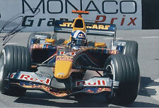 David Coulthard RED BULL F1 HAND SIGNED FOTO 12X8.