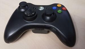Wireless Controller (Xbox 360) schwarz vom Microsoft (SLIM)