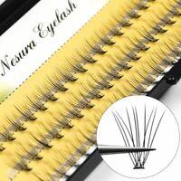 60pcs False Eyelashes Extension Individual Cluster Grafting Professional Makeup