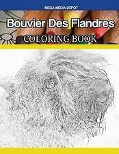 Bouvier Des Flandres Coloring Book, Paperback by Mega Media Depot (Cor), Bran.