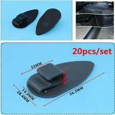 20Pcs Car Floor Mats Anti-Slip Fixing Clip Auto Mats Carpet Liner Retainer Clip