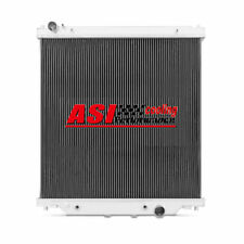2 Rows Aluminum Radiator fit Ford 6.0L Powerstroke F-250 F-350 F-450 2003-2007