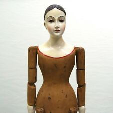 Saint Agatha Santos Cage Doll Large Dreamy Eyes Wooden Statue Catholic Boudoir