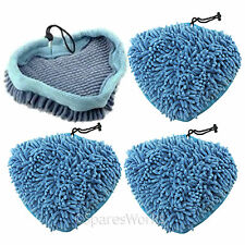 4 x Coral Covers Pads for Beldray 5in1 10in1 15in1 Easy Reach Steam Cleaner Mop