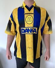 Everton Away Umbro Retro Vintage Football Shirt 1996-1998 FERGUSON XL-XXL