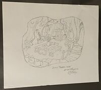 2 Disney Gummi Bears Original Concept Sketches by Willie Ito--two Drawings