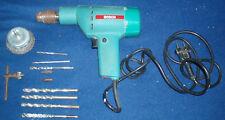 Trapano elettrico a filo Bosch + varie punte e spazzola