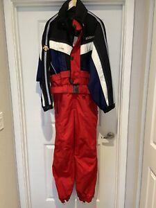 descente mens ski suit