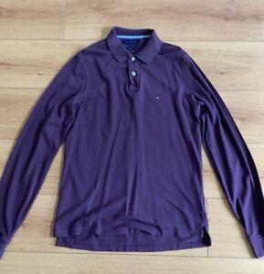 Tommy Hilfiger Long-Sleeved Polo Shirt Men's Size M Slimfit