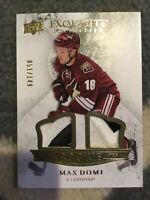 MAX DOMI 15/16 EXQUISITE COLLECTION  DUAL ROOKIE JERSEY RC 51/149