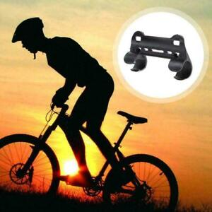 Mini Bike Bicycle Pump Frame Clip Holder Retaining Plastic Clip Black G4T2