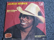 James Brown-Rapp Payback 7 PS-1981-Germany-45 U/min-Soul-Vinyl Single-Metronome