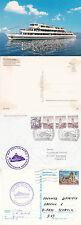 AUSTRIA RIVER CRUISER MS VORARLBERG A SHIPS CACHED COVER POSTCARD & CARD