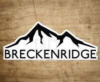 "SKI BRECKENRIDGE COLORADO 4"" x 1.6"" Sticker Decal Skiing Snowboard Mountains"