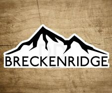 "SKI BRECKENRIDGE COLORADO 4"" x 1.6"" Sticker Decal Skiing Snowboard Mountains"