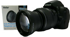SPORT ACTION 2.2X TELE ZOOM LENS FOR NIKON D3000 D7000 D7100 D7200 D5500 D3200