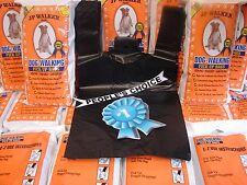 100 Dog Walking E-Z Tie Handles Poop Pick Up Clean Up Waste Bags JP Walker Brand