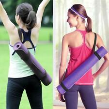 Adjustable Yoga Mat Sling Carrier Shoulder Strap Carry Belt Assistant Stretch