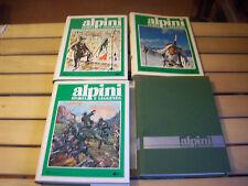 """Alpini """"Storia e Leggenda"""" 3 libri"""
