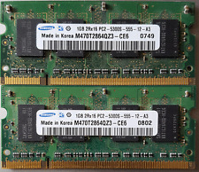 SAMSUNG 2GB PC2-5300 DDR2-667 SODIMM