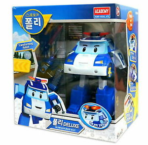 [US] Academy Robocar POLI DELUXE Transformer/ Transforming Robot Toy Plastic Mod