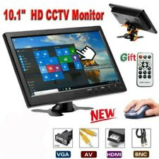 "10.1"" LCD HD Monitor de Coche Mini computadora de TV con Cable HDMI VGA AV BNC"