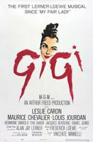 Vintage Gigi Movie Poster// Classic Movie Poster//Movie Poster//Poster Reprint//