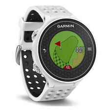 New Garmin Approach S6 GPS White Golf Watch w/ Tempo Training & PinPointer