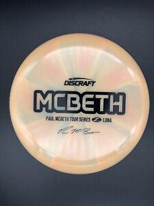 Discraft Paul McBeth Tour Series Swirly Orange Z Luna (173-174)