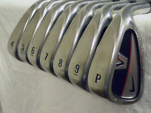 Nike Victory Red Full Cavity Back Irons Set 4-PW (Steel Regular) Golf Clubs