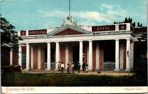 Postcard Hospital Civil in Santiago de Cuba~451