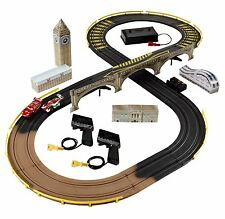 CARS 2 R/C LONDON CITY RACEWAY SLOT CAR RACING TRACK SET DISNEY TOY COLLECTIBLE
