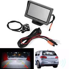 "Parking  TFT LCD Car Reverse Rear View Monitor  Back Up Camera Kit 4.3"""